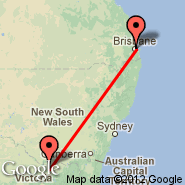 Brisbane (Brisbane International, BNE) - Shepparton (SHT)