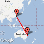 Brisbane (Brisbane International, BNE) - Taipei (Taiwan Taoyuan International, TPE)