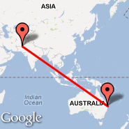 Brisbane (Brisbane International, BNE) - Quetta (UET)