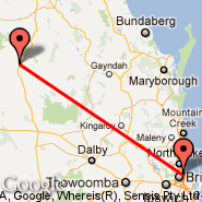 Brisbane (Brisbane International, BNE) - Taroom (XTO)