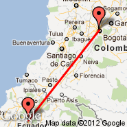 Bogota (Eldorado International, BOG) - Ambato (Chachoan, ATF)