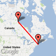 Boston (Logan International, BOS) - Churchill/Manitoba (Metropolitan Area, YYQ)
