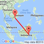 Balikpapan (Sepingan, BPN) - Ho Chi Minh City (Tan Son Nhat International, SGN)