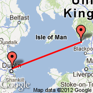 Barrow-in-Furness (Walney Island, BWF) - Dublin (Dublin International Airport, DUB)