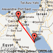 Cairo (Cairo International, CAI) - Hurghada (HRG)