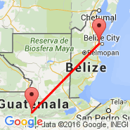Coban (CBV) - Belize City (Municipal, TZA)