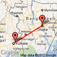 Kolkata/Calcutta (Netaji Subhas Chandra, CCU) - Dhaka (Zia International, DAC)