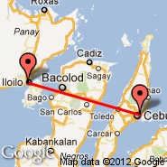 Cebu (Mactan-Cebu International, CEB) - Iloilo (Iloilo International, ILO)