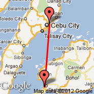 Cebu (Mactan-Cebu International, CEB) - Tagbilaran (TAG)