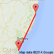 Coffs Harbour (CFS) - Nowra (NOA)