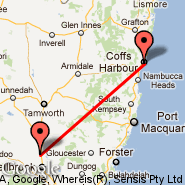 Coffs Harbour (CFS) - Scone (NSO)