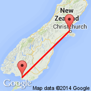 Christchurch (Christchurch International, CHC) - Invercargill (IVC)