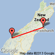 Christchurch (Christchurch International, CHC) - Milford Sound (MFN)