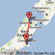 Christchurch (Christchurch International, CHC) - Motueka (MZP)
