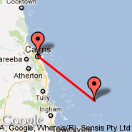 Cairns (Cairns International Airport, CNS) - Cape Flattery (CQP)
