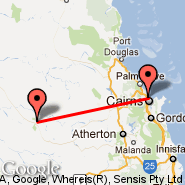 Cairns (Cairns International Airport, CNS) - Chillagoe (LLG)