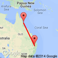 Cairns (Cairns International Airport, CNS) - Stanthorpe (SNH)