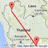 Chiang Mai (Chiang Mai International, CNX) - Battambang (BBM)