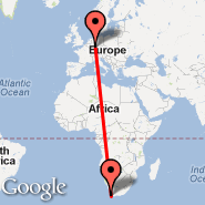 Cape Town (Cape Town International, CPT) - Frankfurt (Frankfurt International Airport, FRA)