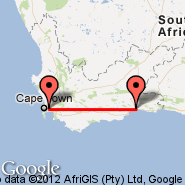 Cape Town (Cape Town International, CPT) - George (GRJ)
