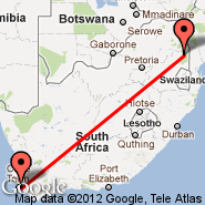 Cape Town (Cape Town International, CPT) - Londolozi (LDZ)