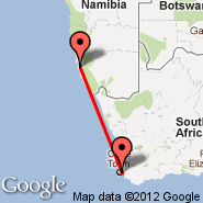 Cape Town (Cape Town International, CPT) - Luderitz (LUD)