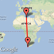Cape Town (Cape Town International, CPT) - Misurata (MRA)