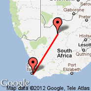 Cape Town (Cape Town International, CPT) - Sishen (SIS)