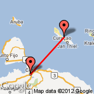 Curacao (Hato International Airport, CUR) - Coro (Jos, CZE)