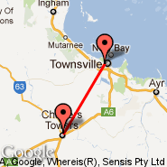 Charters Towers (CXT) - Townsville (Townsville International, TSV)