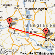 Dhaka (Zia International, DAC) - Ishurdi (IRD)