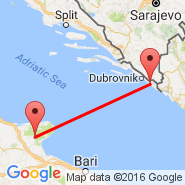 Dubrovnik (DBV) - San Giovanni Rotondo (Gila Bend Air Force Auxiliary Airport, GBN)