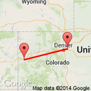 Denver (Denver International, DEN) - Grand Junction (Walker Field, GJT)