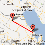 Dammam (King Fahd International Airport, DMM) - Qaisumah (Hafr al-Batin, AQI)