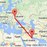 Dammam (King Fahd International Airport, DMM) - Chernovtsy (Chernovtsy, CWC)