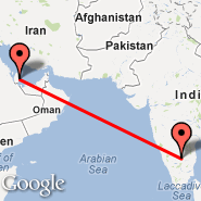 Doha (Doha International Airport, DOH) - Bangalore (Bangalore International Airport, BLR)
