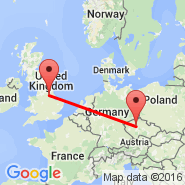 Doncaster Sheffield (Robin Hood, DSA) - Praga (Prague - Ruzyne International, PRG)