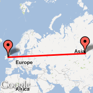 Dublin (Dublin International Airport, DUB) - Bratsk (BTK)