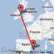 Dublin (Dublin International Airport, DUB) - Ibiza (IBZ)
