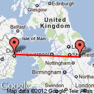 Dublin (Dublin International Airport, DUB) - Scampton (RAF Station, SQZ)