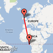 Dublin (Dublin International Airport, DUB) - Sao Tome (Sao Tome Is, TMS)