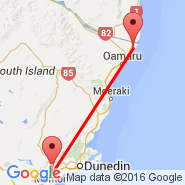 Dunedin (Dunedin International, DUD) - Oamaru (OAM)