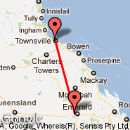 Dysart (DYA) - Townsville (Townsville International, TSV)