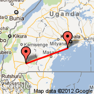 Entebbe (Entebbe International Airport, EBB) - Mbarara (MBQ)