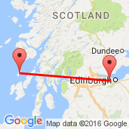 Edinburgh (Turnhouse, EDI) - Colonsay Island (Isle Of Colonsay, CSA)