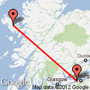 Edinburgh (Turnhouse, EDI) - Skye/Hebrides (Broadford, SKL)