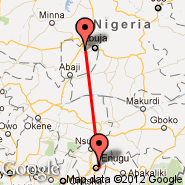 Enugu (ENU) - Abuja (Nnamdi Azikiwe International Airport, ABV)
