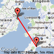Exeter (Exeter International Airport, EXT) - Dublin (Dublin International Airport, DUB)