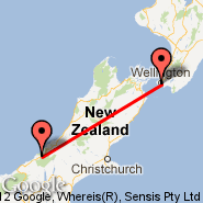 Fox Glacier (Heliport, FGL) - Wellington (Wellington International, WLG)