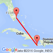 Fort Lauderdale (Fort Lauderdale/hollywood International, FLL) - Les Cayes (CYA)